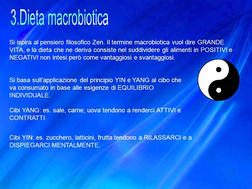 3.Dieta macrobiotica