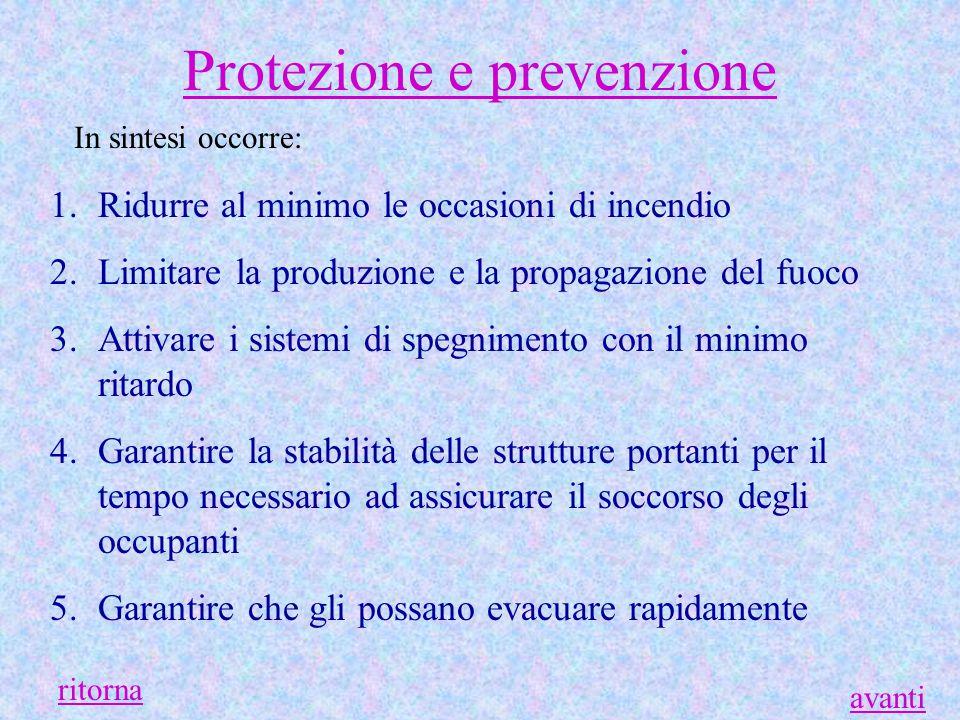 Protezione e prevenzione
