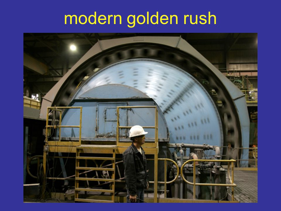 modern golden rush
