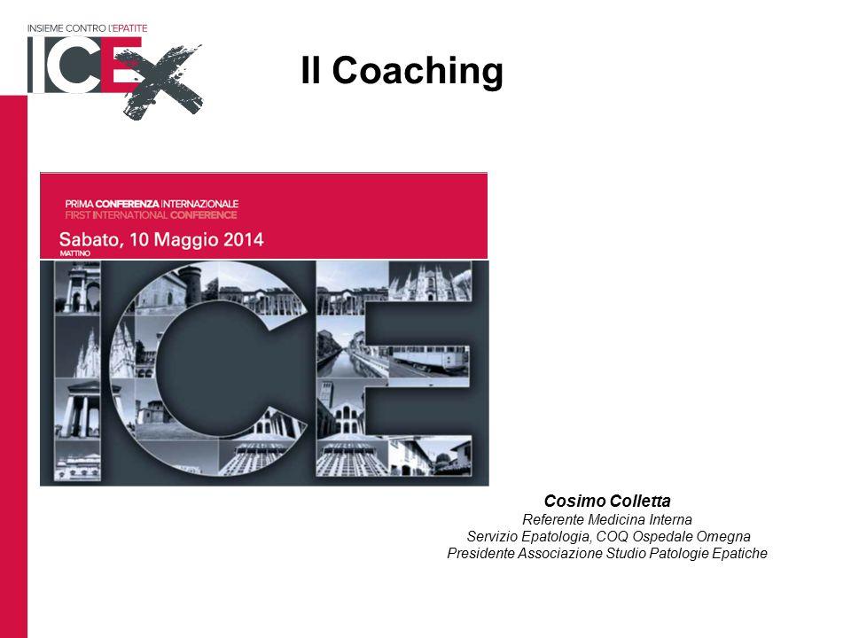 Il Coaching Cosimo Colletta Referente Medicina Interna