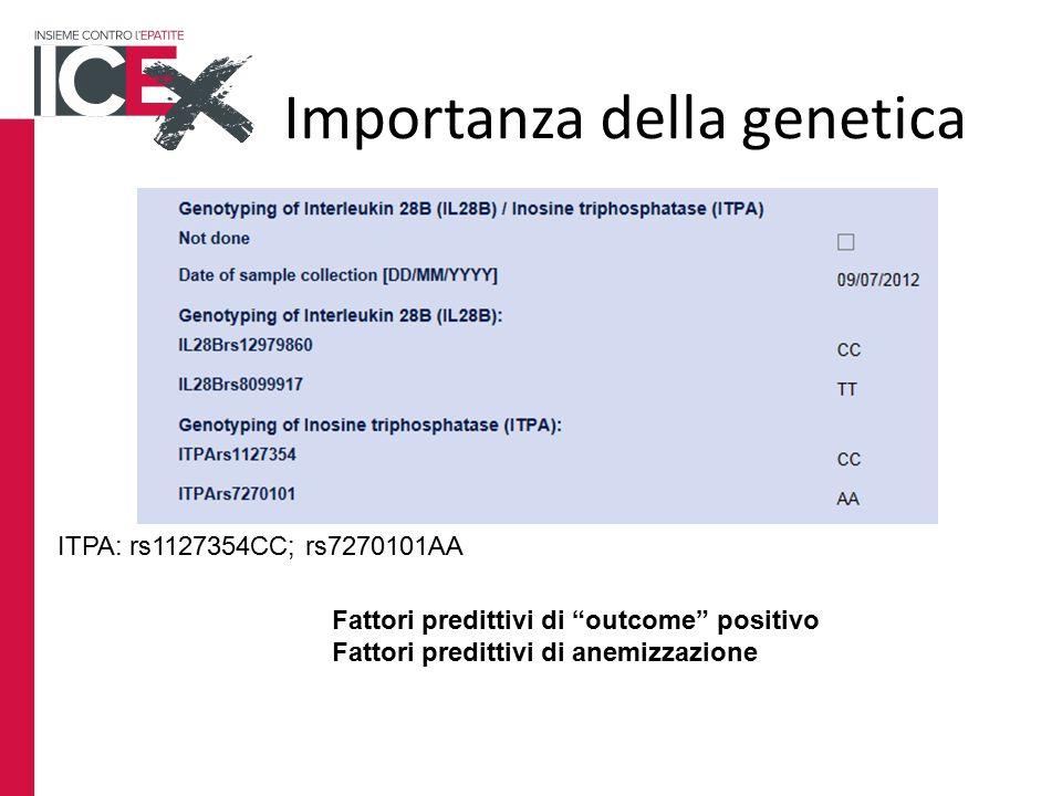Importanza della genetica
