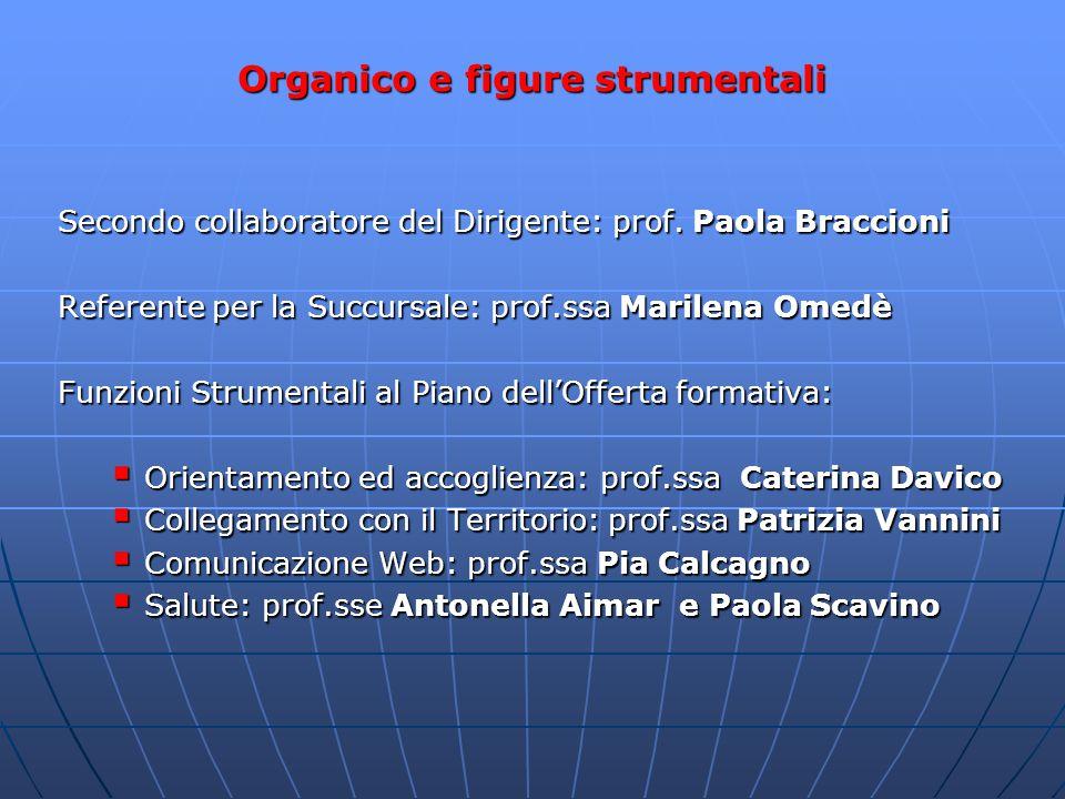 Organico e figure strumentali