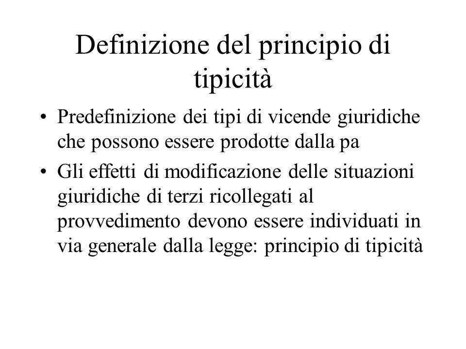 Definizione del principio di tipicità