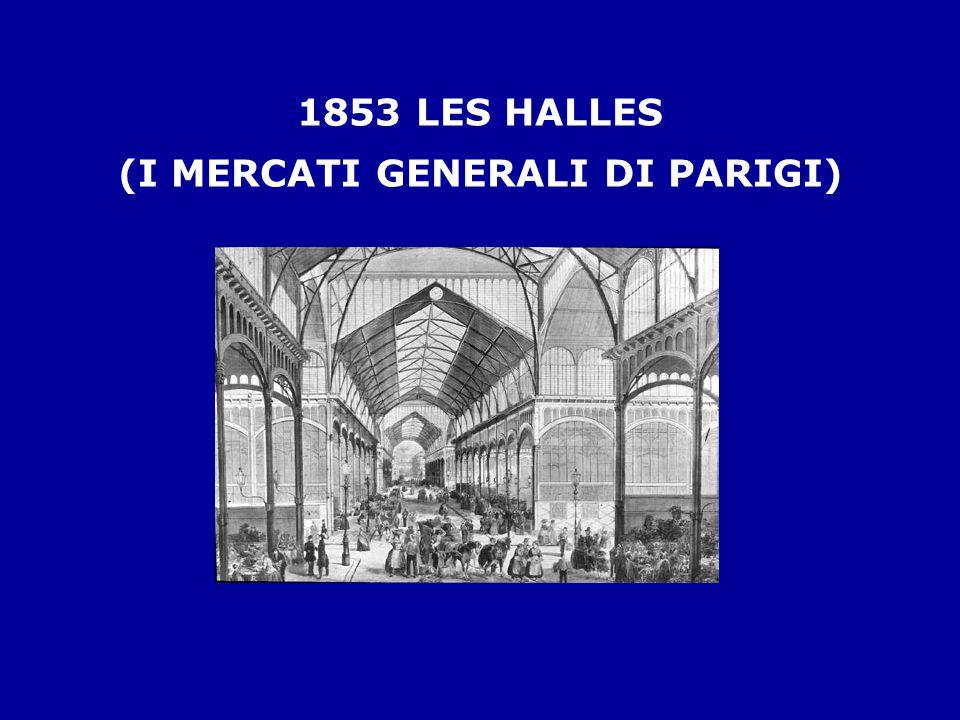 1853 LES HALLES (I MERCATI GENERALI DI PARIGI)