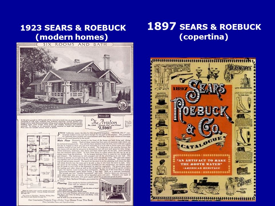 1923 SEARS & ROEBUCK (modern homes)