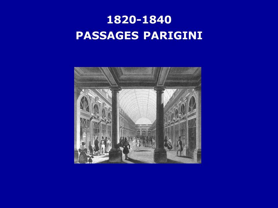 1820-1840 PASSAGES PARIGINI