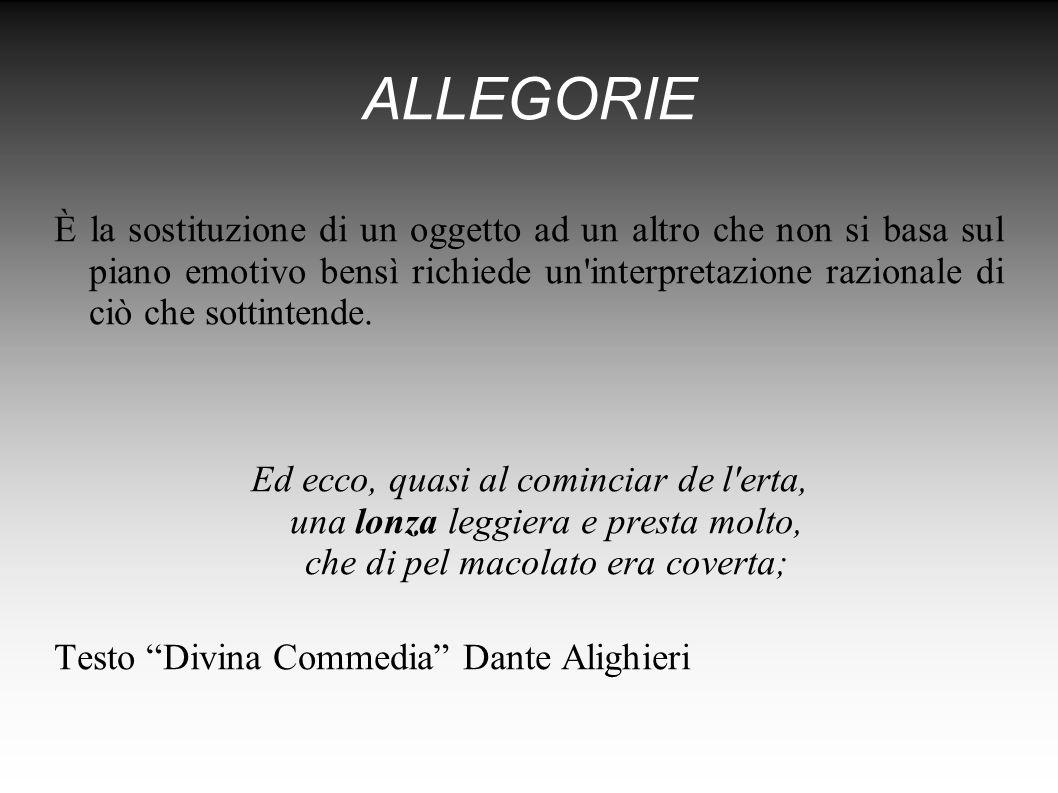 ALLEGORIE