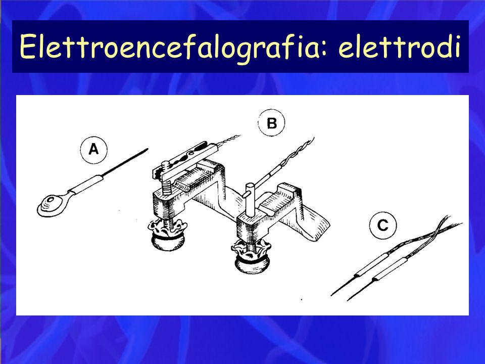 Elettroencefalografia: elettrodi