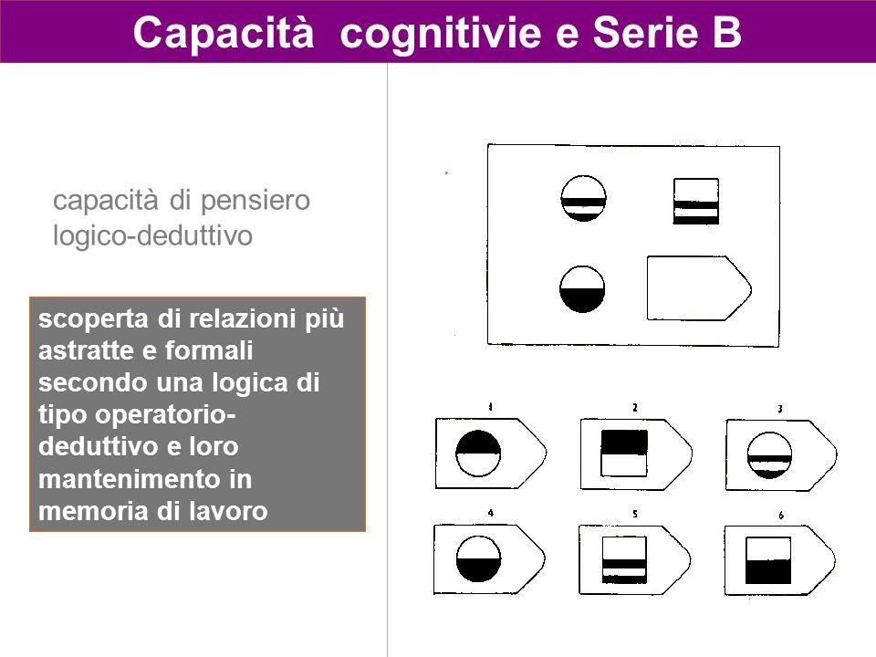 Capacità cognitivie e Serie B