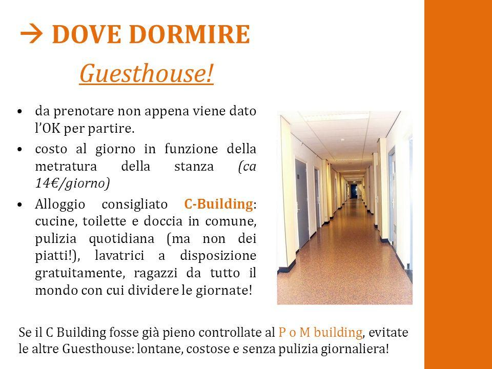  DOVE DORMIRE Guesthouse!