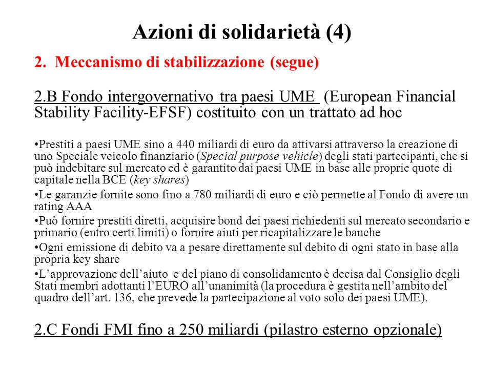 Azioni di solidarietà (4)