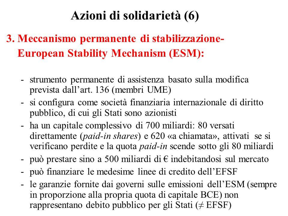 Azioni di solidarietà (6)