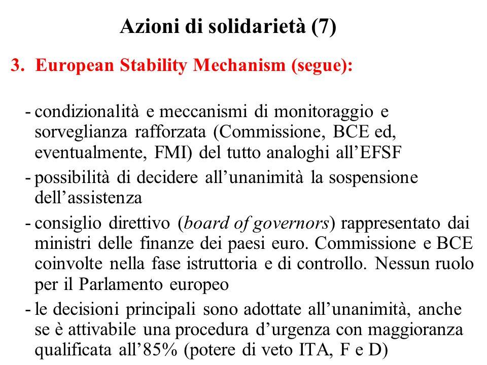 Azioni di solidarietà (7)