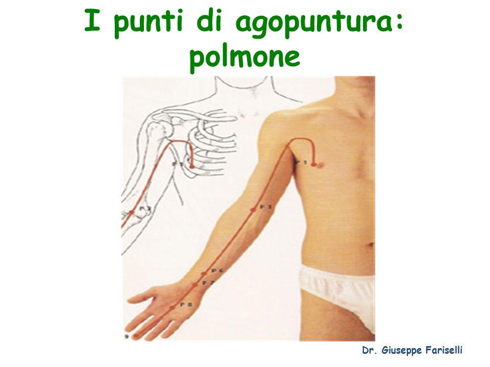 I punti di agopuntura: polmone
