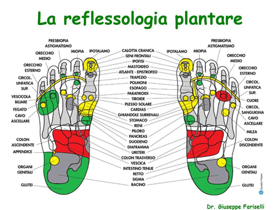 La reflessologia plantare