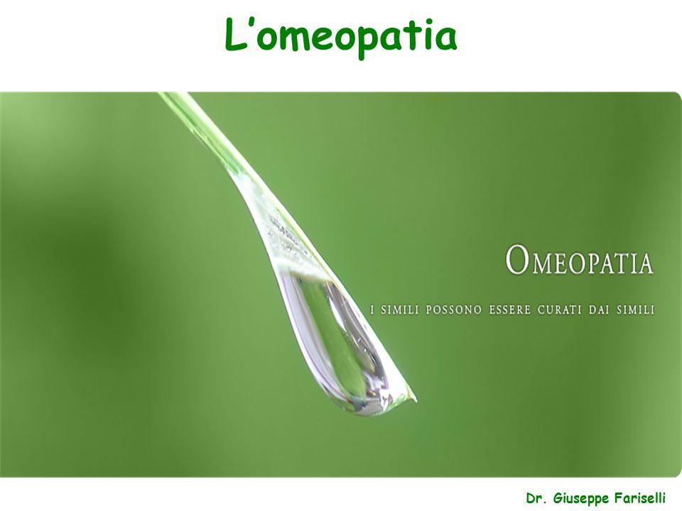 L'omeopatia Dr. Giuseppe Fariselli
