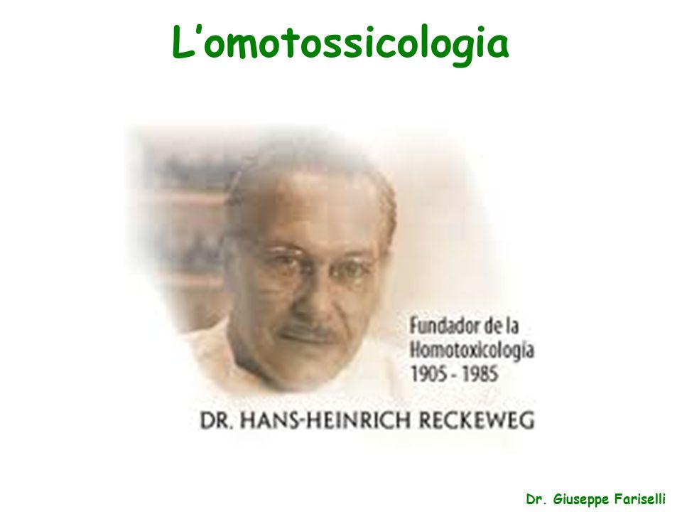 L'omotossicologia Dr. Giuseppe Fariselli