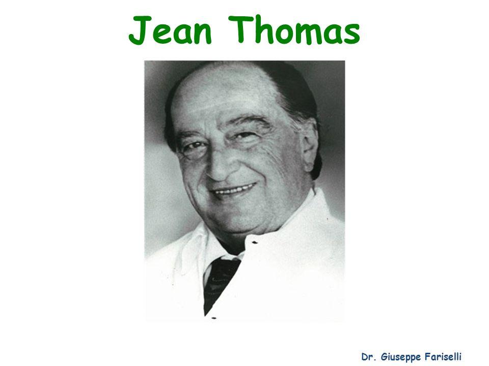 Jean Thomas Dr. Giuseppe Fariselli