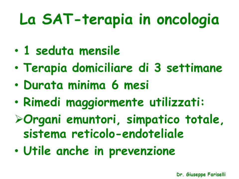 La SAT-terapia in oncologia