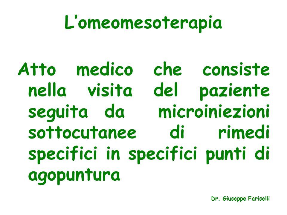 L'omeomesoterapia