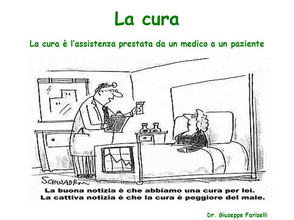 La cura è l'assistenza prestata da un medico a un paziente