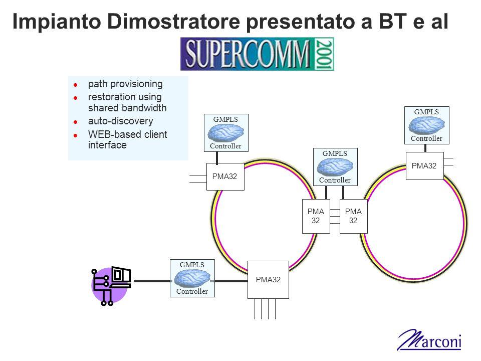 Impianto Dimostratore presentato a BT e al