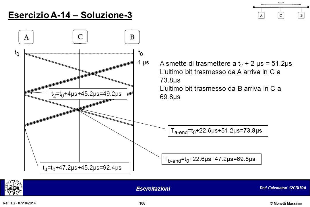 Esercizio A-14 – Soluzione-3