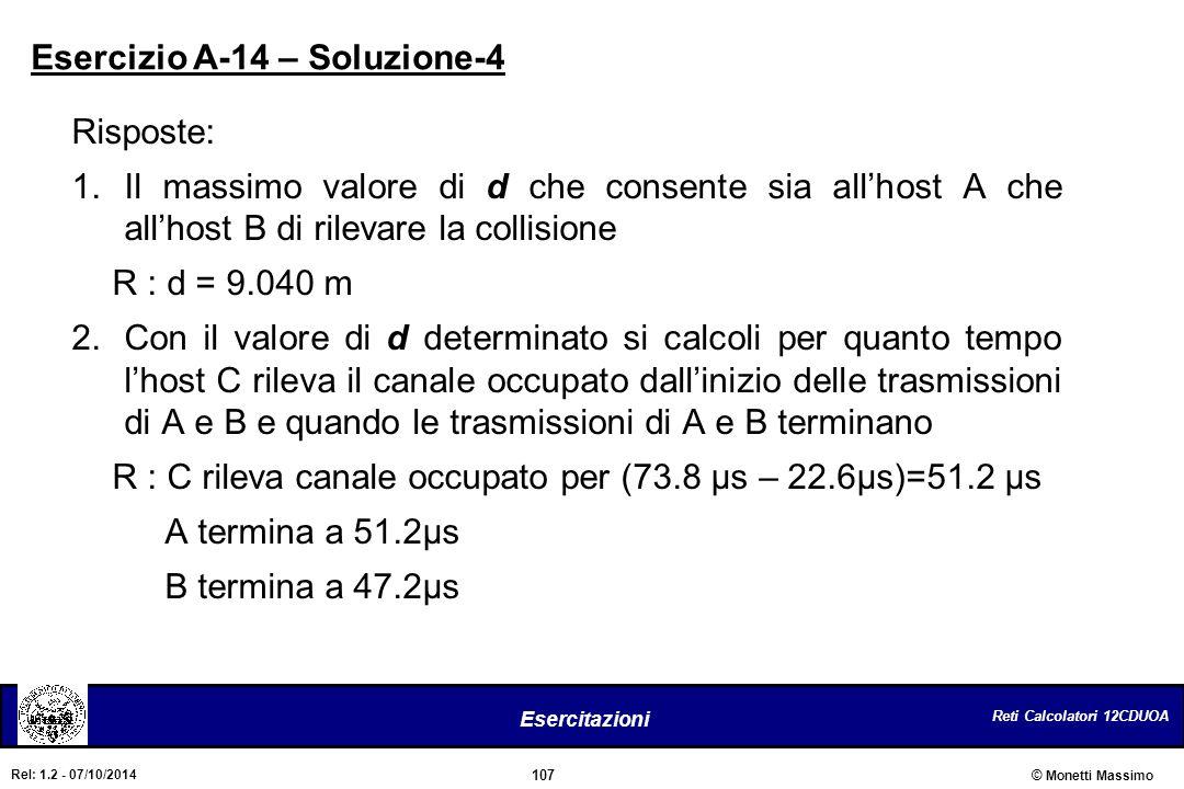 Esercizio A-14 – Soluzione-4
