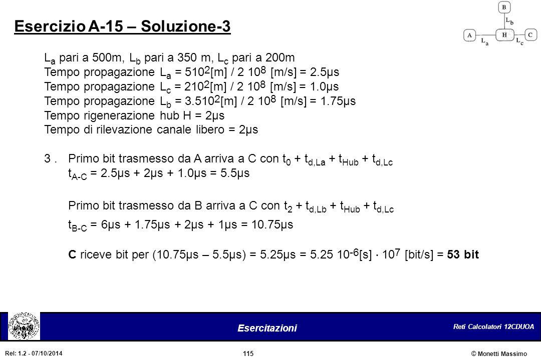 Esercizio A-15 – Soluzione-3