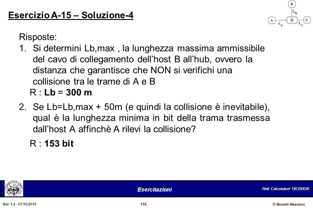 Esercizio A-15 – Soluzione-4