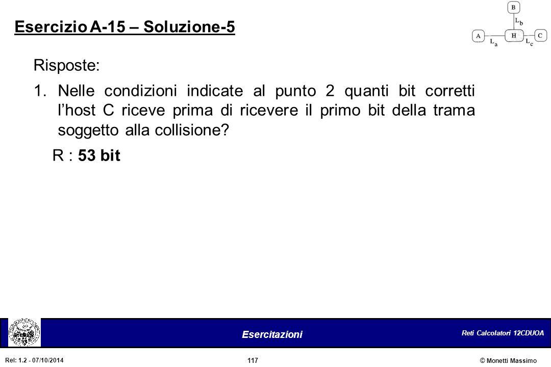 Esercizio A-15 – Soluzione-5