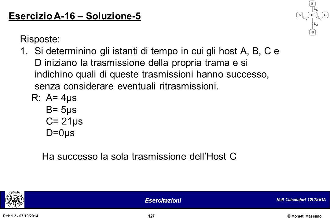 Esercizio A-16 – Soluzione-5