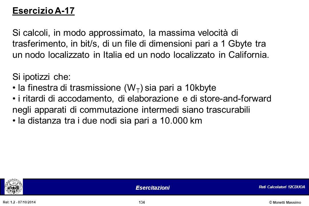 Esercizio A-17