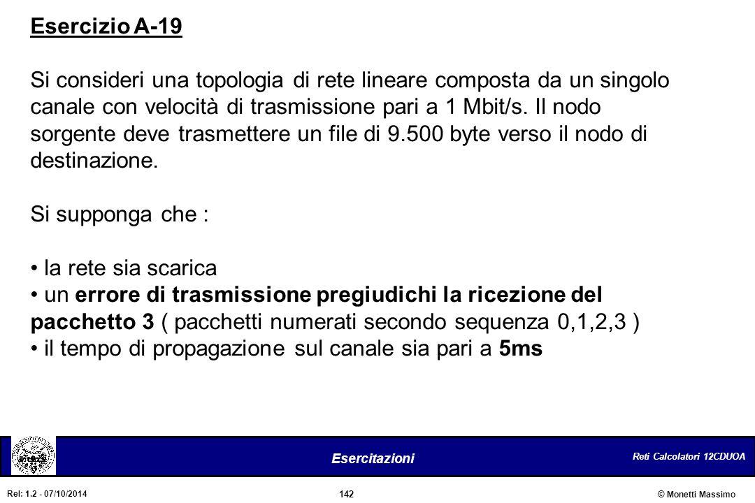 Esercizio A-19