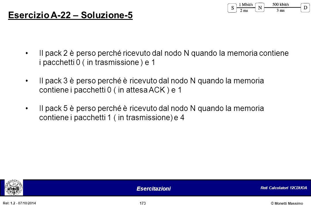 Esercizio A-22 – Soluzione-5