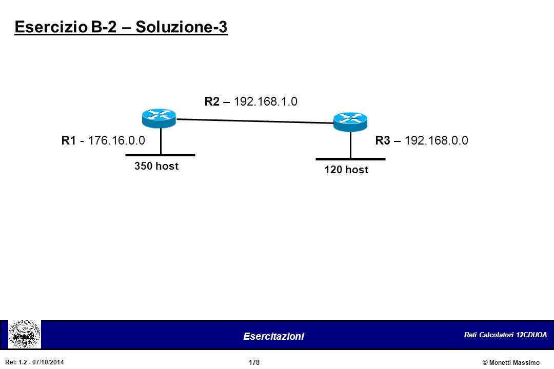 Esercizio B-2 – Soluzione-3