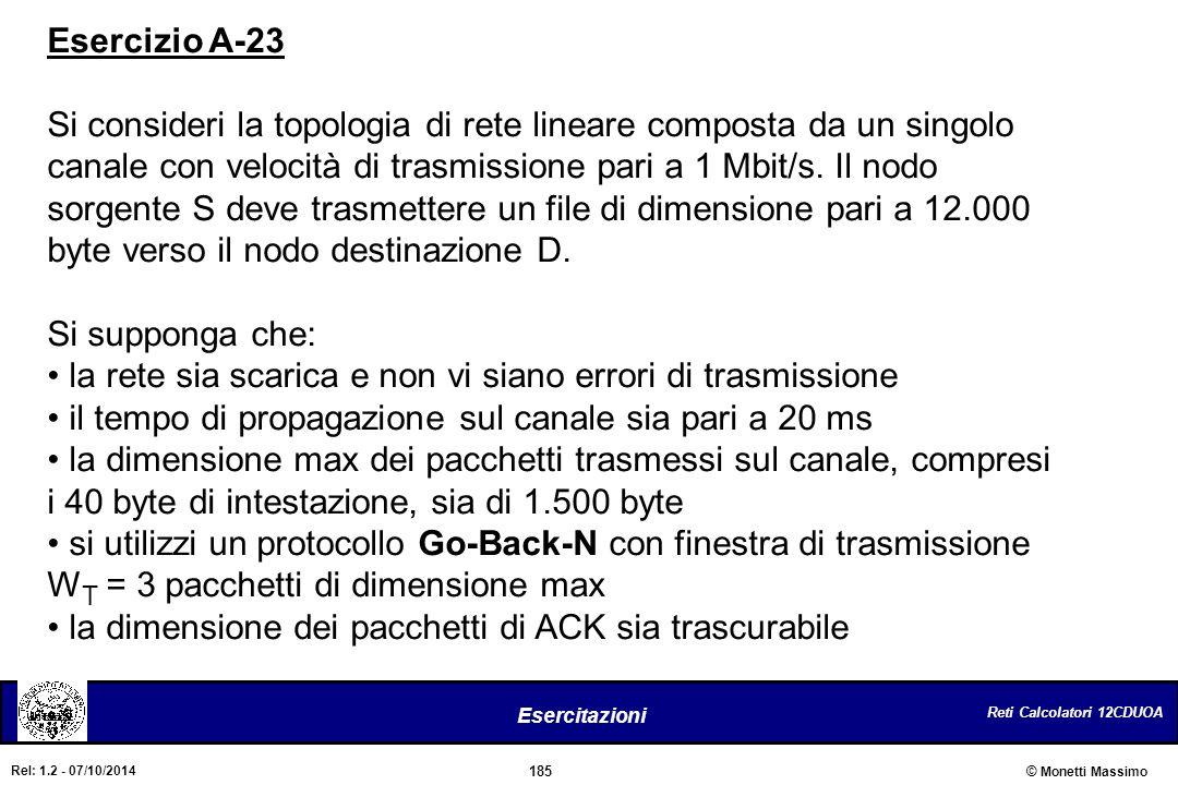 Esercizio A-23