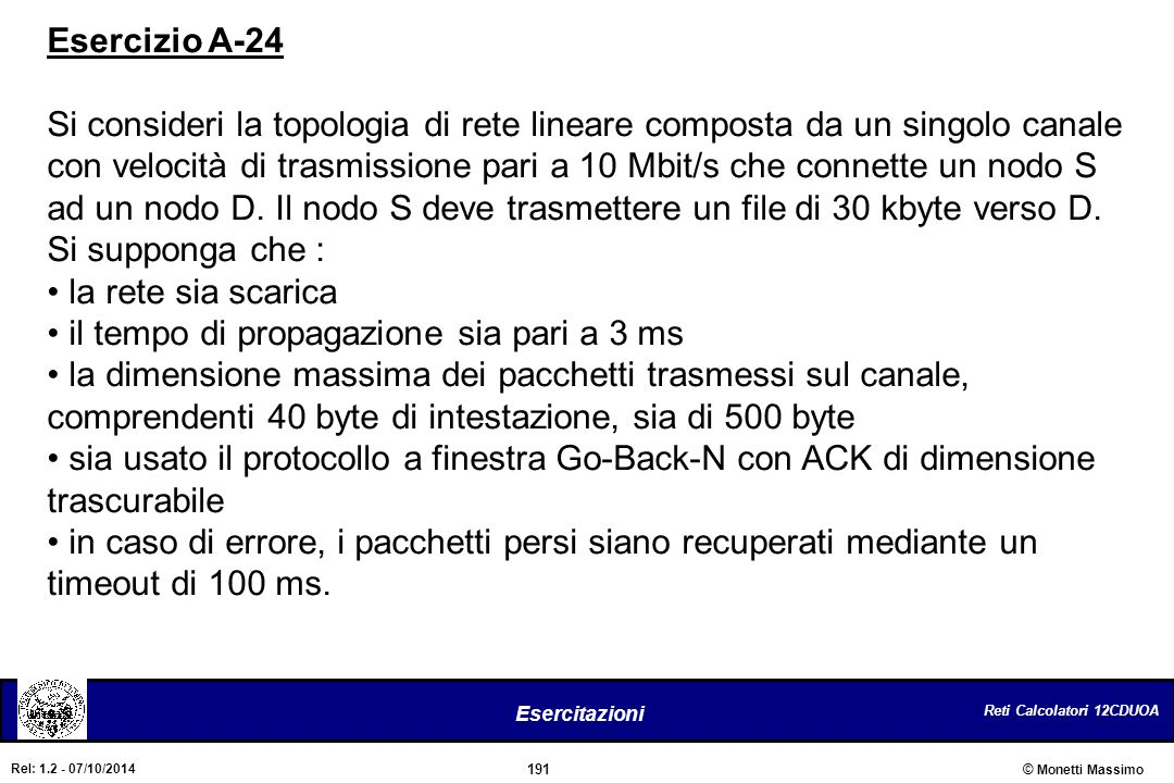 Esercizio A-24