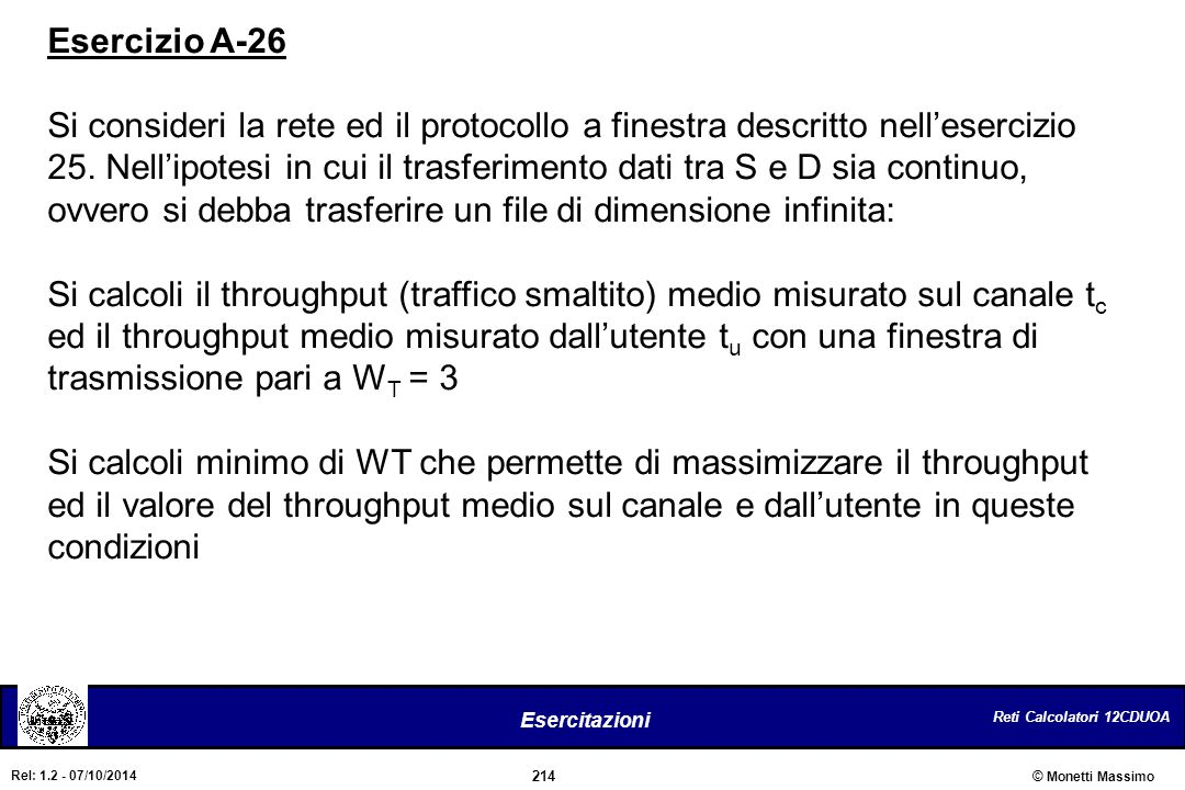 Esercizio A-26