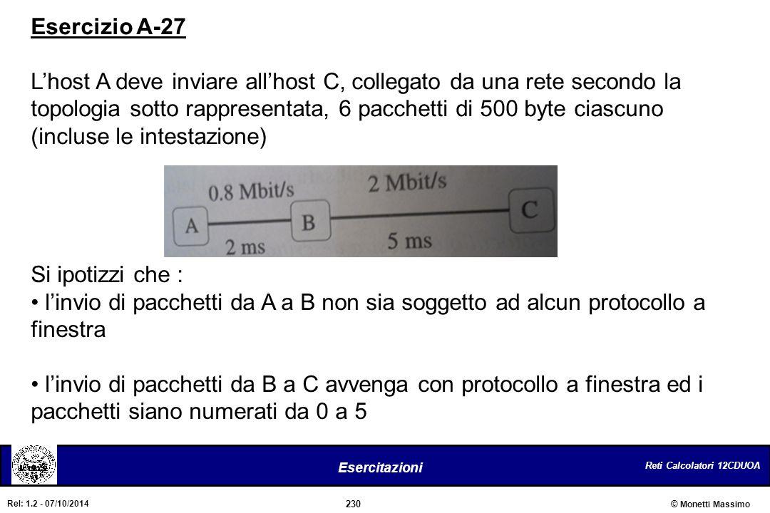 Esercizio A-27