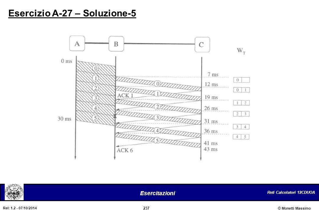 Esercizio A-27 – Soluzione-5