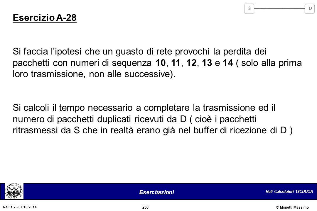 Esercizio A-28