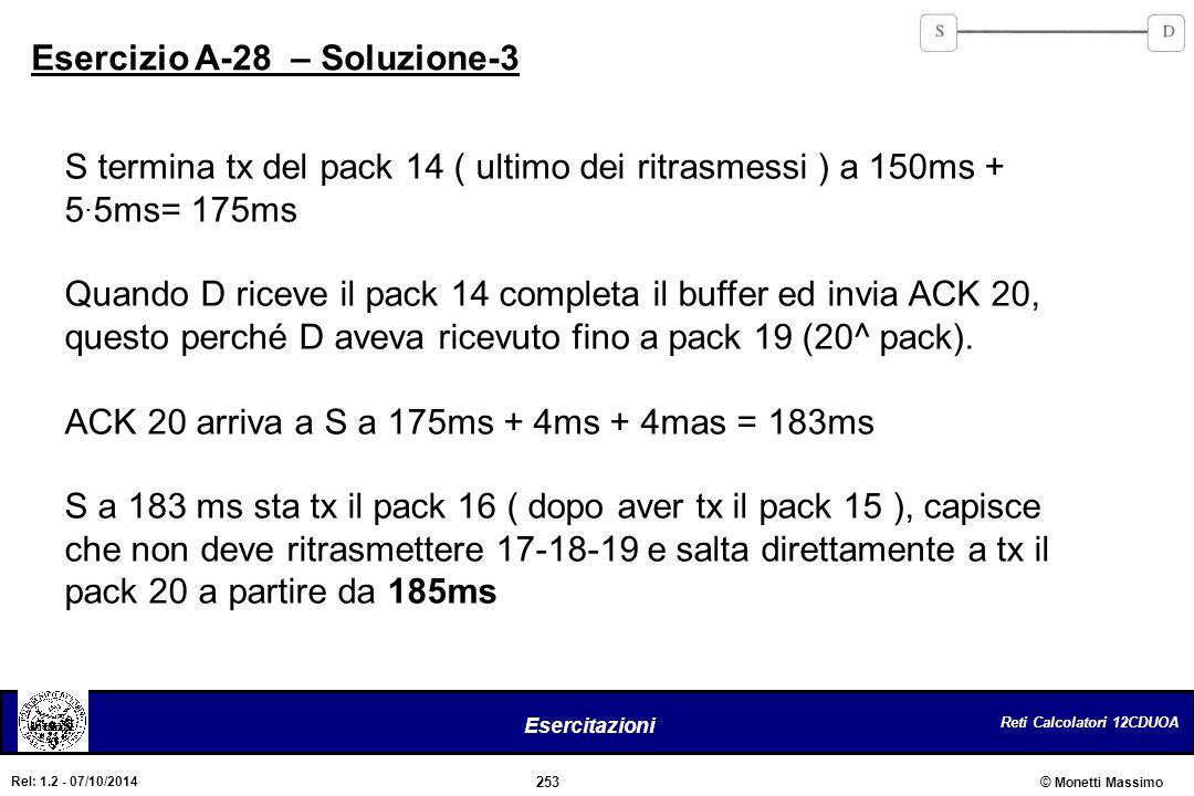 Esercizio A-28 – Soluzione-3