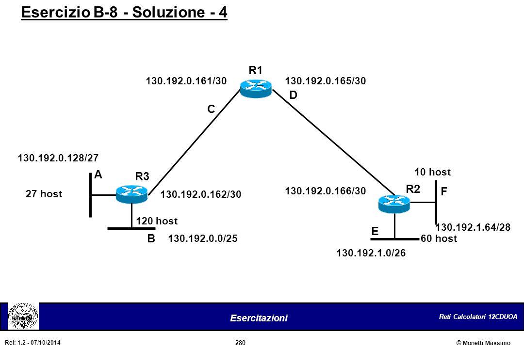 Esercizio B-8 - Soluzione - 4