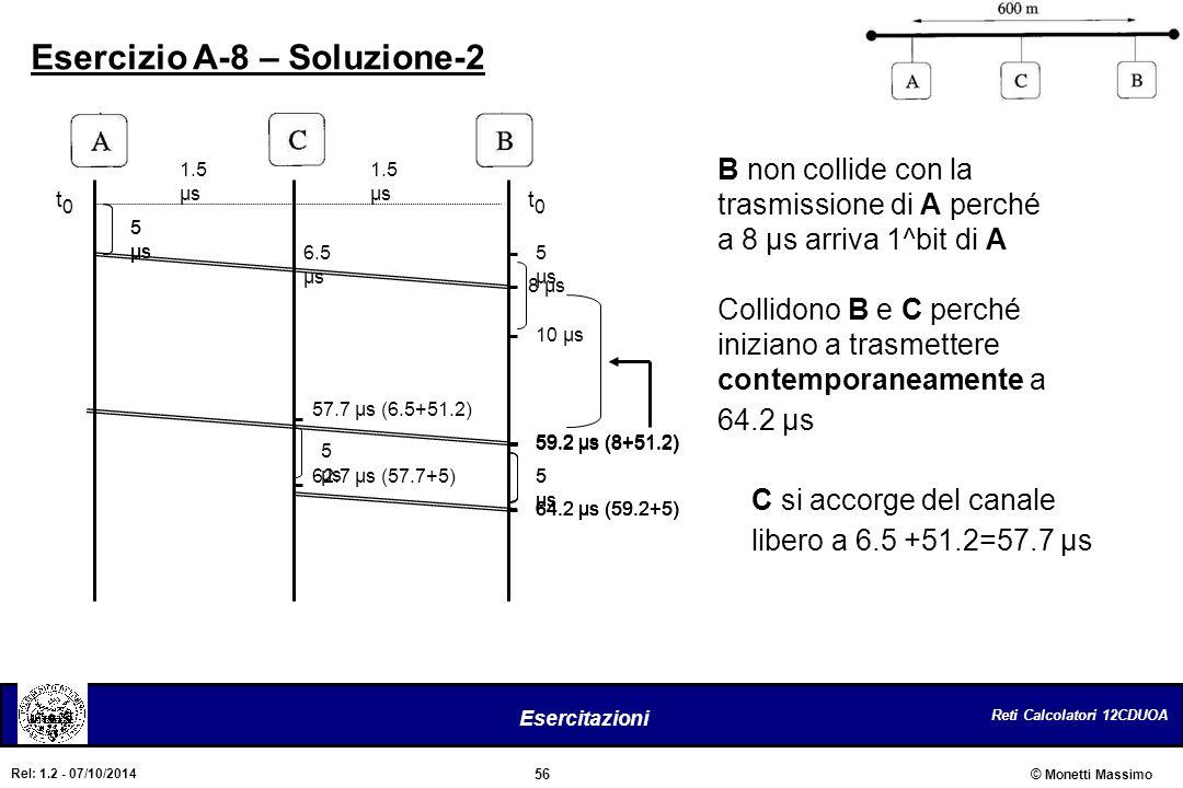 Esercizio A-8 – Soluzione-2