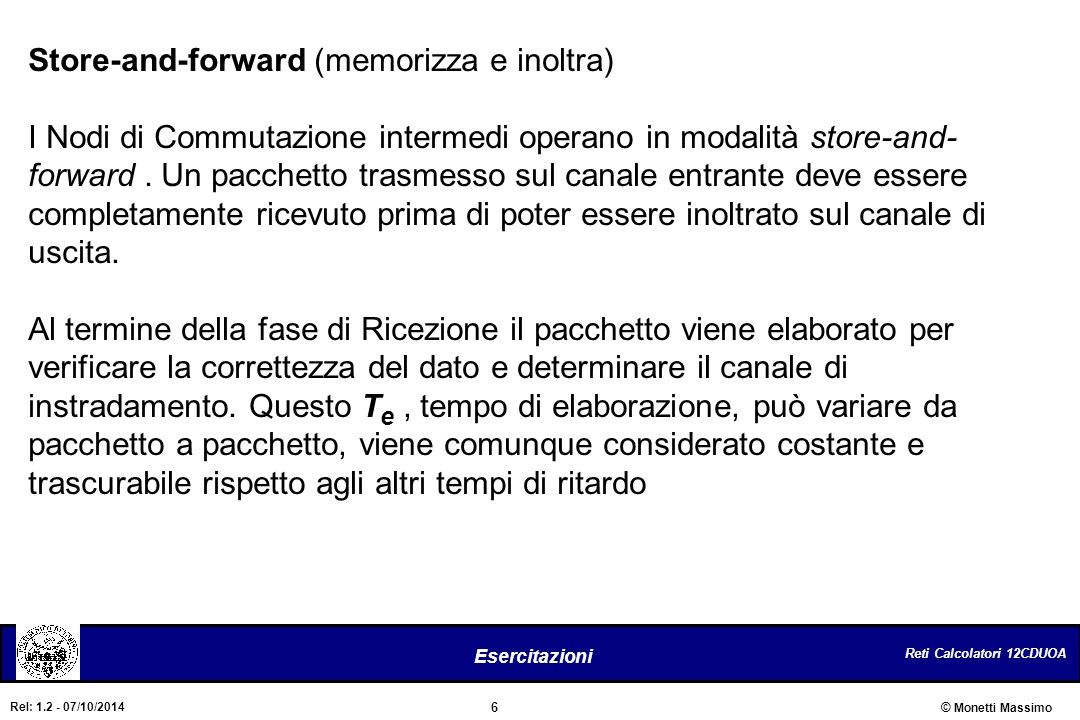 Store-and-forward (memorizza e inoltra)