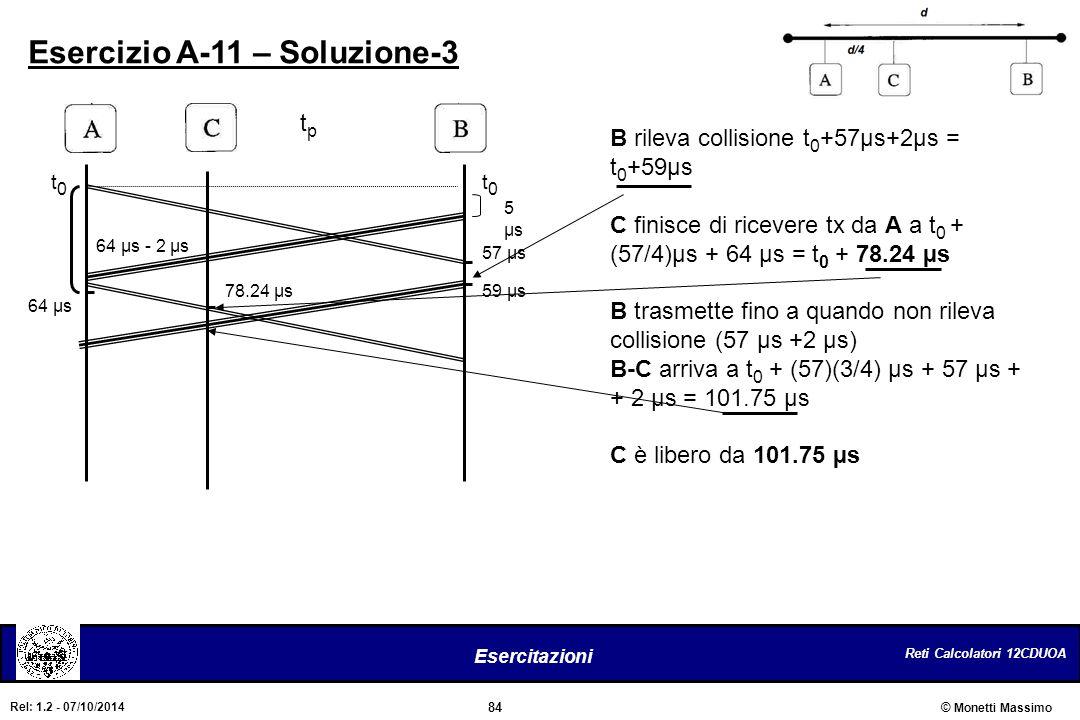 Esercizio A-11 – Soluzione-3