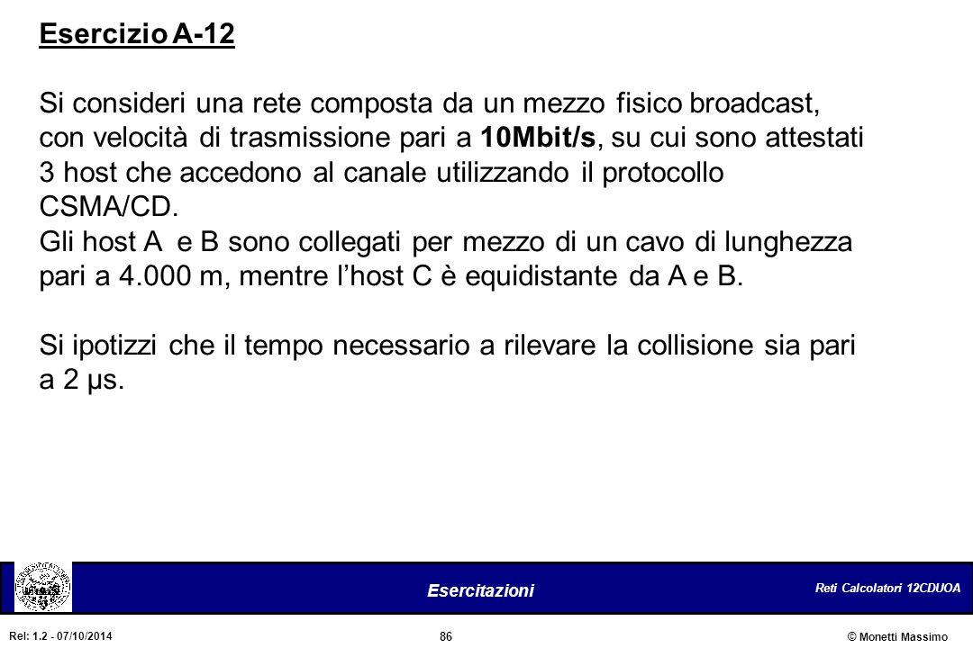 Esercizio A-12