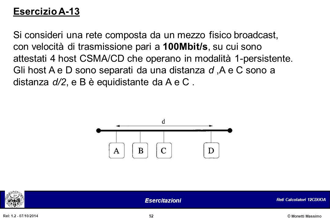 Esercizio A-13