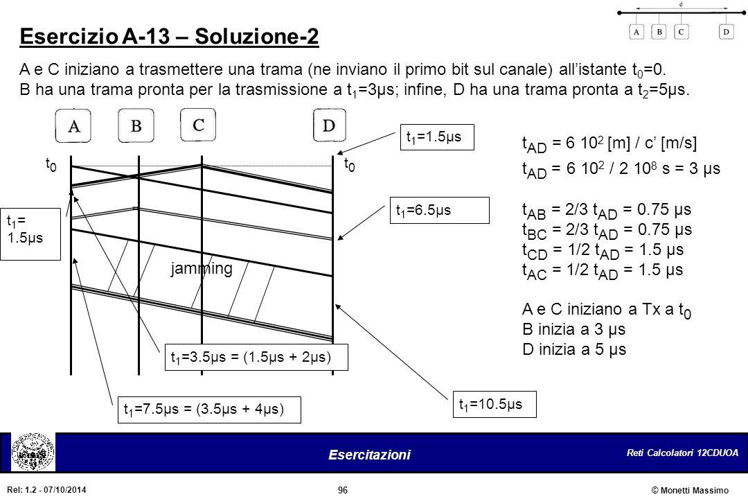 Esercizio A-13 – Soluzione-2